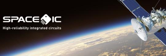 Illustration satellite Space IC
