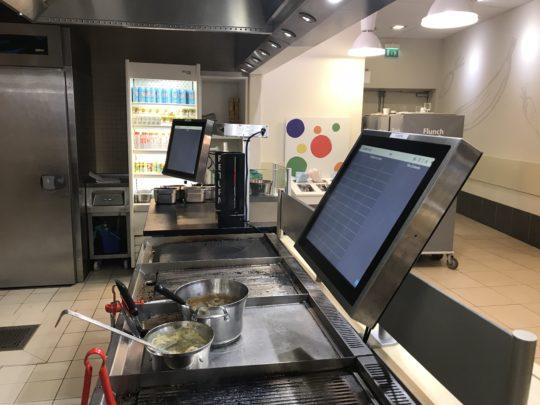 Photo cuisine Lunch avec écran PKTRONICS