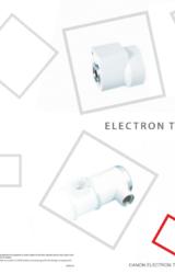 Catalogue Canon electron tubes & devices